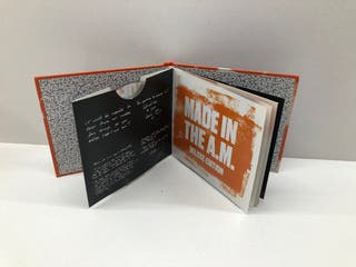CD ONE DIRECTION MADE IN THE A.M, DELUXE EDITION