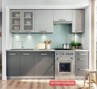 Oferta Cocina nueva gris 240 MDF