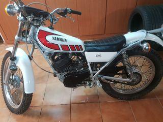 moto yamaha TY 125