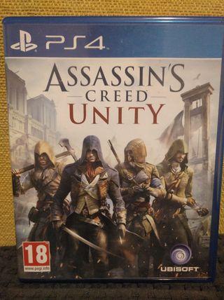 ASSASSINS CREED UNITY PARA PLAYSTATION4