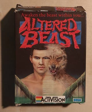 Altered Beast Amstrad CPC 464 Cinta