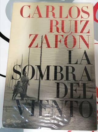 La sombra del viento, de Carlos Ruiz Zafón.