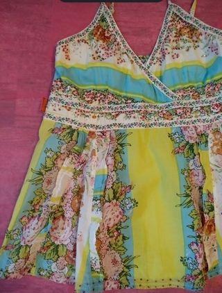 Blusa veraniega Flamenco