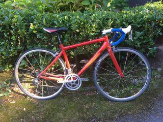 Amortiguadas Alu tija de sillín 500mm de largo patente pilar 33,2mm diversidad bicicleta plegable