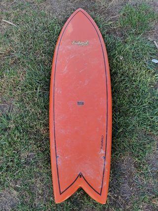 Tabla de Surf Retro Fish 6'0 Tribord