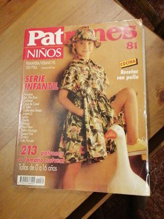 Revista patrones infantil