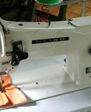máquina de coser seiko triple arrastre