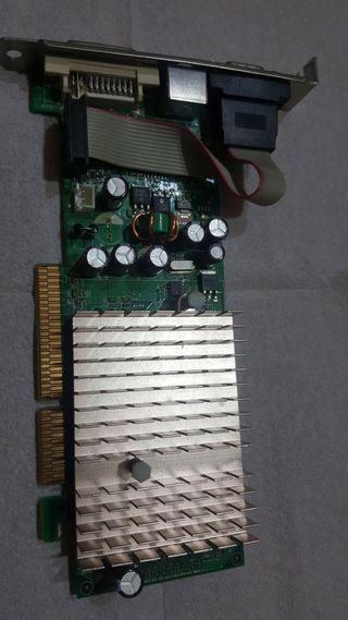 nVidia GeForce 6200A vga dvi agp 256mb