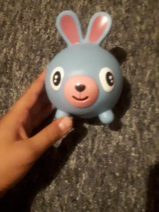 Rabbit sqweeky toy