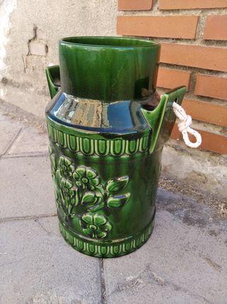 jarrón lechera cerámica vintage años 60/70