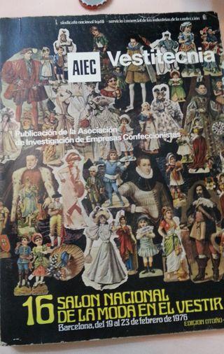 Vestitecnia. Libro expositor salón nacional moda.