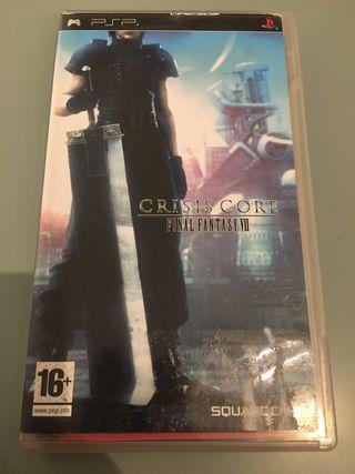 Final fantasy VII Crisis Core psp