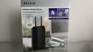 Modem Router Belkin Wifi N