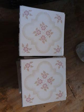 Azulejo Rosa 15x15