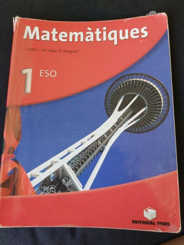 Matematiques 1 ESO