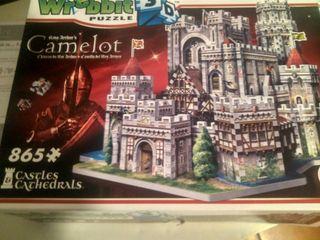 vendo puzzle Camelot en 3D