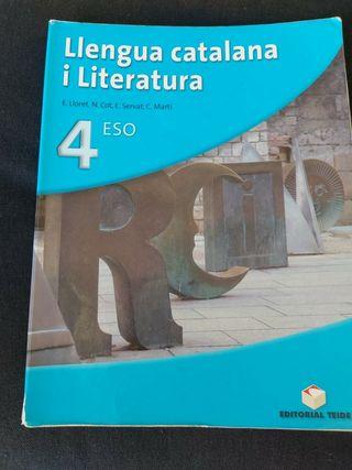 Llengua Catalana i literatura 4 ESO