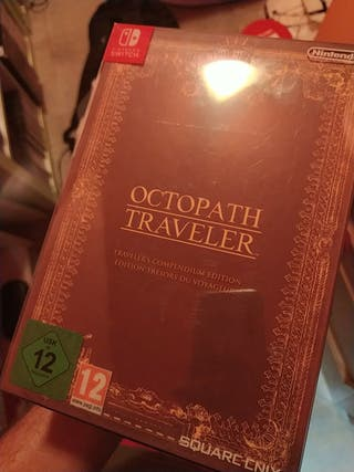 Octopath traveler coleccionista Switch