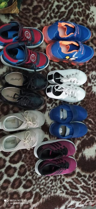 zapatillas y zapatos niño