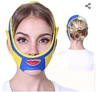 Faja facial reductora de papada..