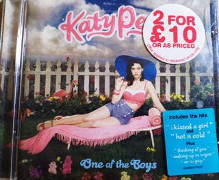One of the boys. UK version. Katy Perry