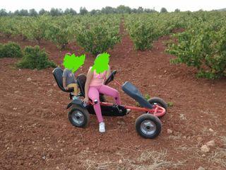 se vende buggy adulto y niños a pedales kar car