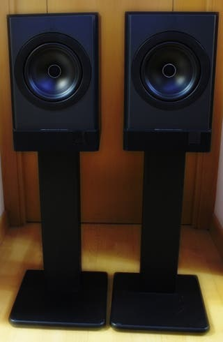 Soportes para altavoces Hi-Fi negros