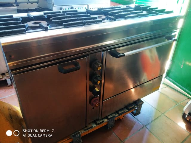 IECSA cocina industrial gas butano
