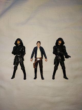 Han Solo y Imperiales