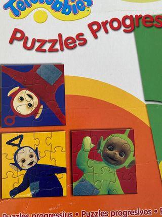 Puzzle Bebés Teletubbies