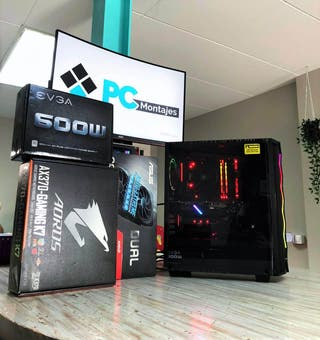 PC Gaming Ryzen 5 2600X y RX5700 8GB ideal 2k