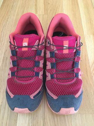 Zapatillas Salomon T36 niños (XA PRO 3D junior)