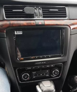 Marco Skoda Superb Panel de montaje de Radio 2din