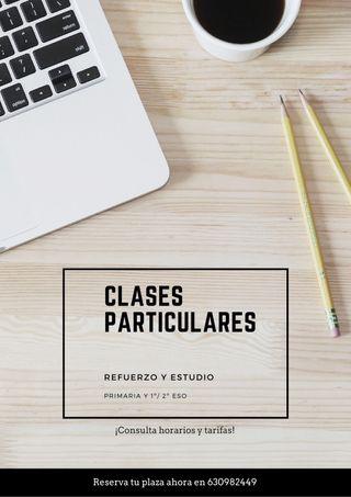 Profesor de clases particulares (Primaria/ESO)