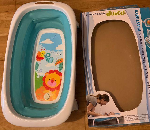 Bañera plegable para bebé