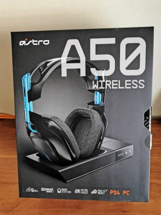 Auriculares ASTRO A50 + MOD KIT PS4 / PC