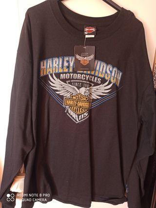 Camiseta Harley de invierno