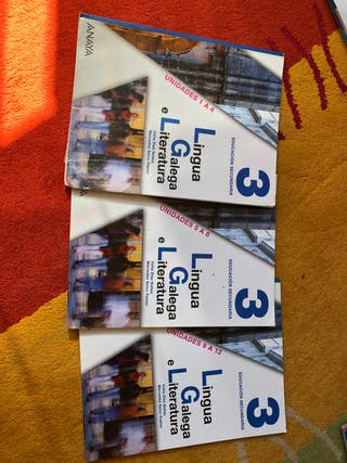 Libros Galego tercero de la ESO