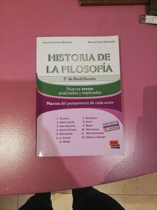 HISTORIA DE LA FILOSOFÍA 2BACH