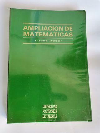 Ampliación de matemáticas Lucas Jódar Universidad