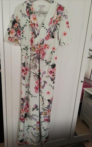 vestido largo estilo japonés