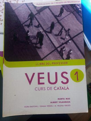 VEUS 1 LLibre del profesor de curs catalá