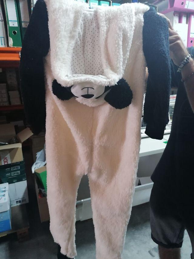 Mono/pijama Anna King oso panda NUEVO