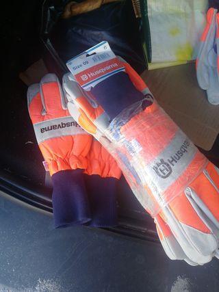 guantes motosierra