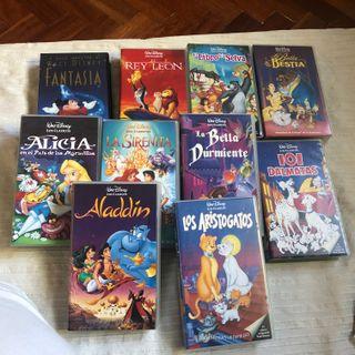10 Cintas VHS Disney