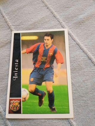 Cromo Iniesta Liga 2003