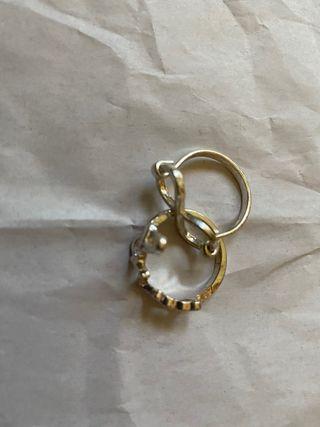 Set de anillos de amor