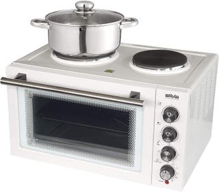 Multicocina horno aire grill + 2 placas electricas