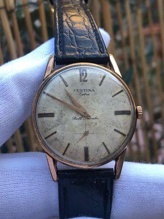 Reloj suizo festina repasado por relojero