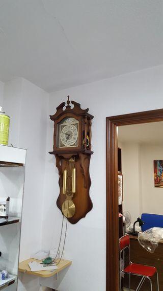 Reloj pared antiguo junghans